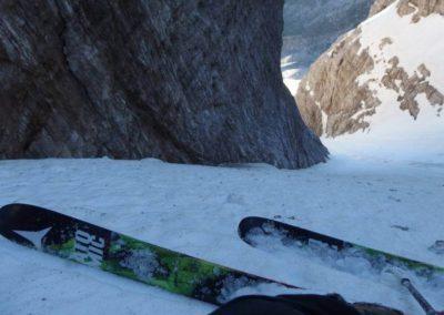 Canalone Neri Cima Tosa - Discesa - Sci Alpinismo - Escursione Impegnativa - Guida Alpina Andrea Concini