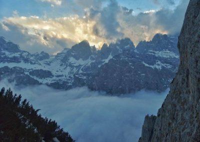 Panorama - Vie Normali Dolomiti - Guida Alpina Andrea Concini