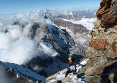 Panoramica - Alta Montagna - Escursioni in alta quota - Guida Alpina Andrea Concini