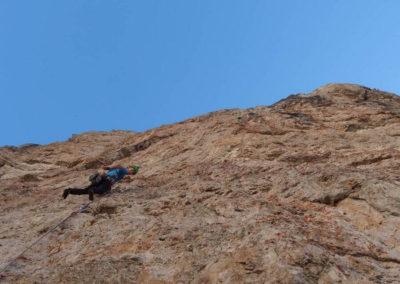 Parete - Arrampicata su roccia - Guida Alpina Andrea Concini