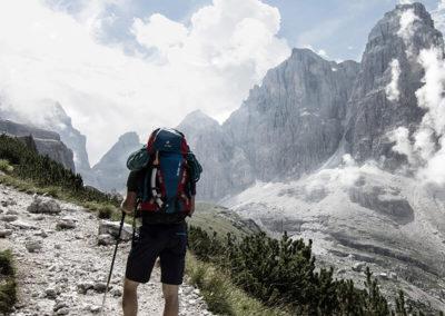Sentiero - Trekking Dolomiti e Trentino - Guida Alpina Andrea Concini