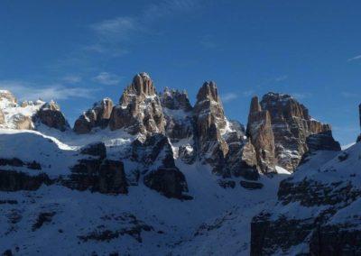 Veduta montagne - Vie Normali Dolomiti - Guida Alpina Andrea Concini