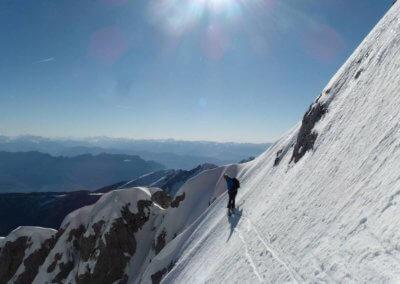 Pendenza - Sci Alpinismo - Guida Alpina Andrea Concini