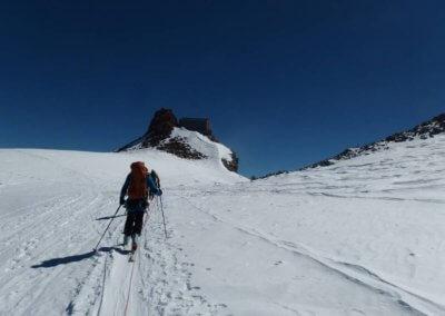 Salita con pelli Sci Alpinismo - Guida Alpina Andrea Concini