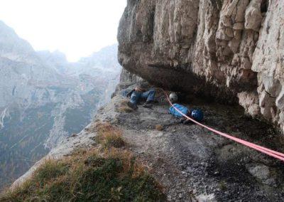 Vie Dolomiti - Sosta - Guida Alpina Andrea Concini